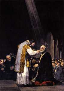 The Last Communion of St. Joseph Calasanz