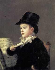 Portrait of Mariano Goya