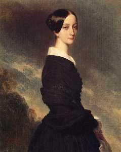 Portrait of Francisca Caroline de Braganca