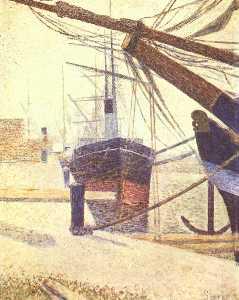 Harbor in Honfleur