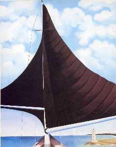 Brown Sail, Wing on Wing, Nassau