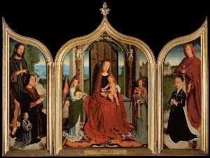 Triptych of the Sedano Family