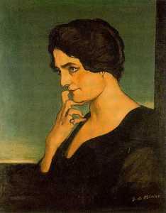 Portrait of senora Gartzen