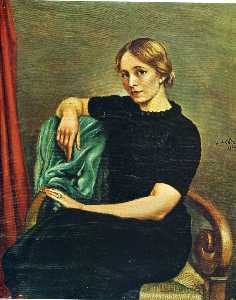 Portrait of Isa with black dress