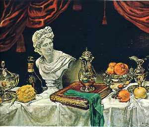 Still Life with Silver Ware