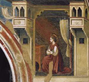 Annunciation: The Virgin Receiving the Message