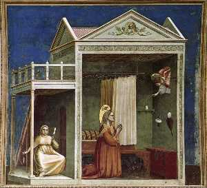 Annunciation to St Anne