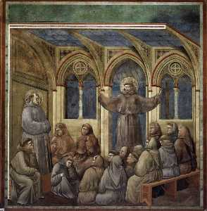 The Apparition at the Chapter House at Arles