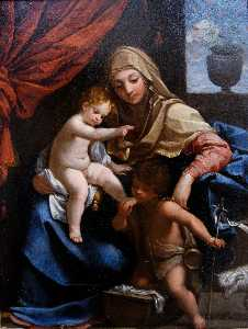 Madonna with Child and St. John the Baptist