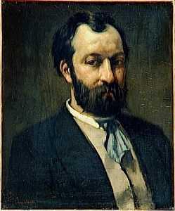 Portrait of Jules Antoine Castagnary