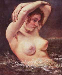 The Woman in the Waves (The Bather)