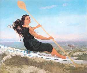 The Woman in a Podoscaphe