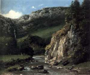 Stream in the Jura Mountains