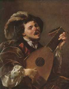 The Singing Lute Player