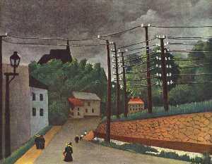 View of Malakoff Hauts de Seine