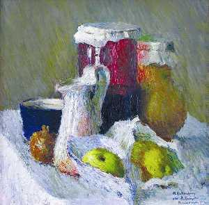 Jam Jar and Apples