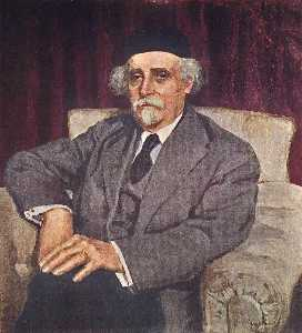 Portrait of N.D.Zelinsky