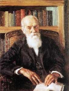 Portrait of the Academician Alexei Nikolaevish Bach