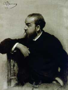 porträt von der künstler r . S . Levitsky