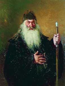 Portrait of the Surgeon Nikolay Pirogov