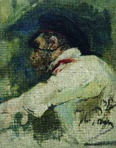 A man in white jacket