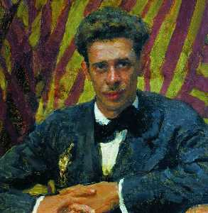 ニコライレーミゾフの肖像
