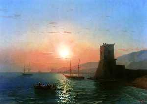 Sunset in Feodosia