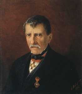 Portrait of Khalibjan, mayor of the New Nakhichevan