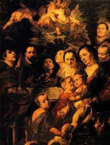Portrait of Jordaens family