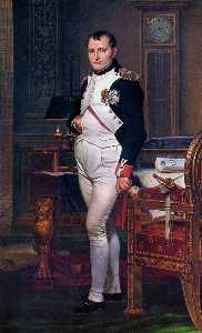 Napoleon Bonaparte in his Study at the Tuileries