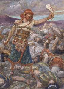 Samson Slays a Thousand Men