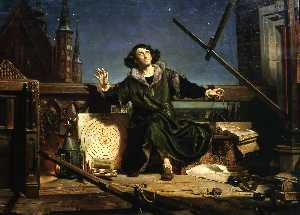 Copernicus in the tower at Frombork, or Conversations with God