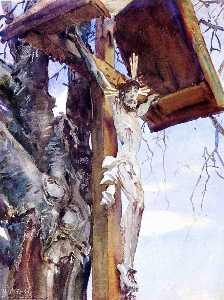 Tyrolese Crucifix