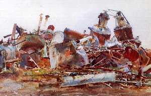 A Wrecked Sugar Refinery