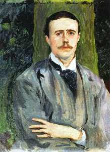 Portrait of Jacques-Emile Blanche