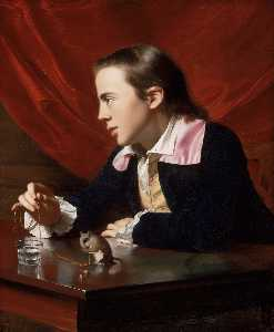 Boy with Squirrel (Henry Pelham)