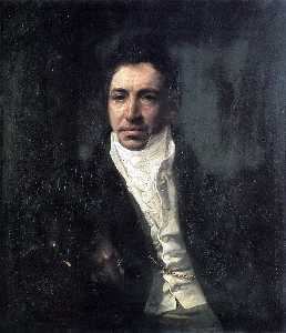 Portrait of the Secretary of State Piotr Kikin
