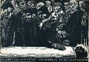 Memorial for Karl Liebknecht