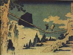 The Suspension Bridge Between Hida and Etchu