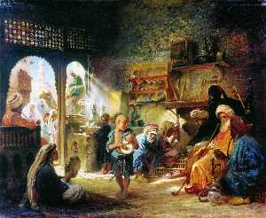 Coffee House in Cairo