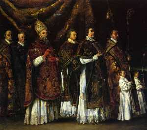 The Pontifical mass