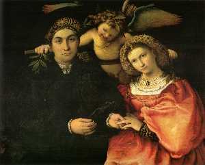 Signor Marsilio Cassotti and his Wife, Faustina