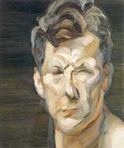Man's Head, Small Portrait III (Self-Portrait)