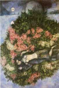 Lovers in the Lilacs