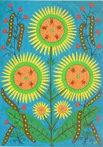 Dear Friends, I Give You the Sun and My Sunny Art