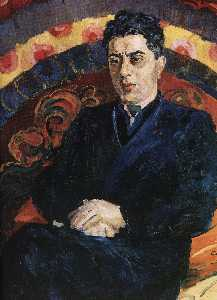 Portrait of composer Aram Khachaturian