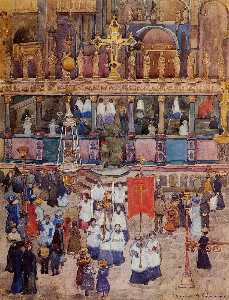 Easter Procession, St. Mark's