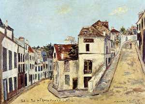 Pontoise, l'Eperon Street and Street de la Coutellerie