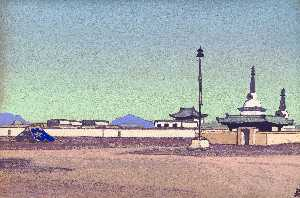 Batuhalka, the capital of Inner Mongolia