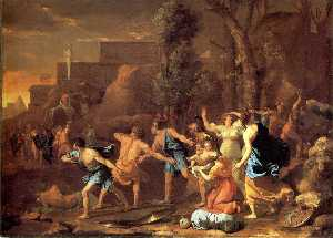 The Saving of the Infant Pyrrhus